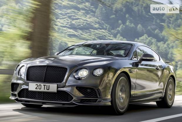 Bentley Continental Supersports II поколение (рестайлинг) Купе