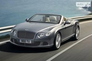 Bentley continental 2 поколение Кабриолет