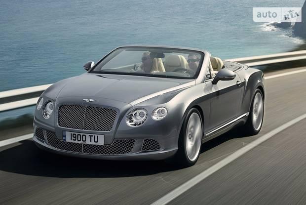 Bentley Continental 2 поколение Кабріолет