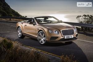 Bentley continental 2 поколение (рестайлинг) Кабриолет