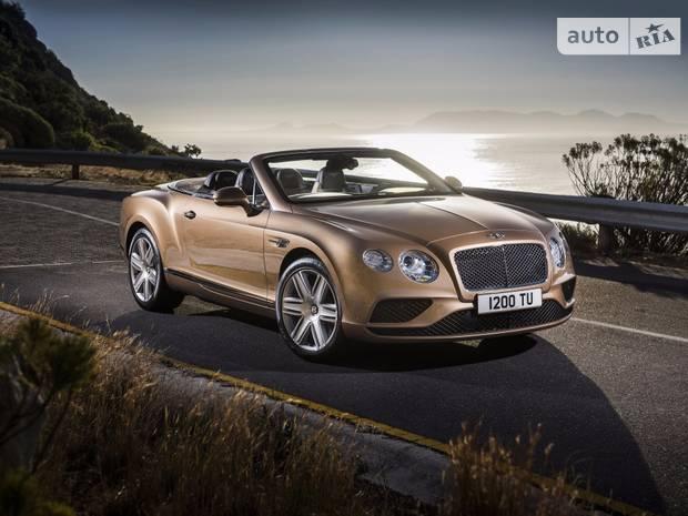 Bentley Continental 2 поколение (рестайлинг) Кабріолет