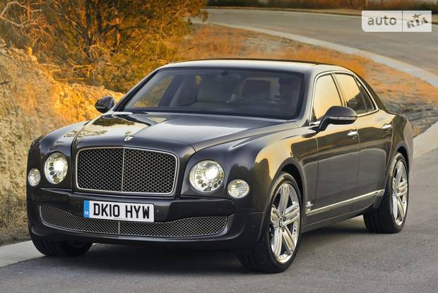 Bentley Mulsanne 2 поколение Седан