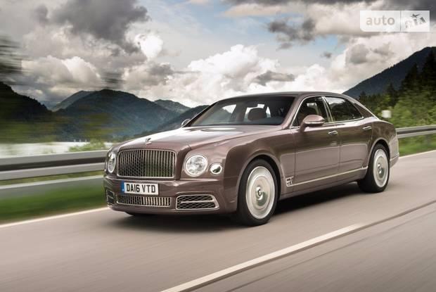 Bentley Mulsanne 2 поколение (рестайлинг) Седан