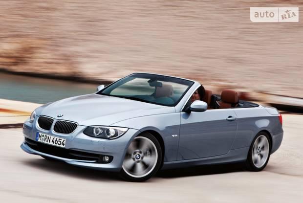 BMW 3 Series E93 (рестайлінг) Кабриолет