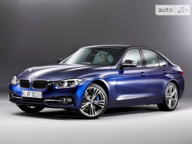BMW 3 Series F30 (рестайлінг) Седан