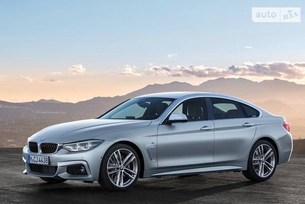BMW 4 Series Gran Coupe F36 рестайлинг Лифтбэк