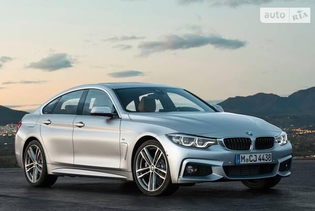 BMW 4 Series Gran Coupe F36 рестайлинг Ліфтбек