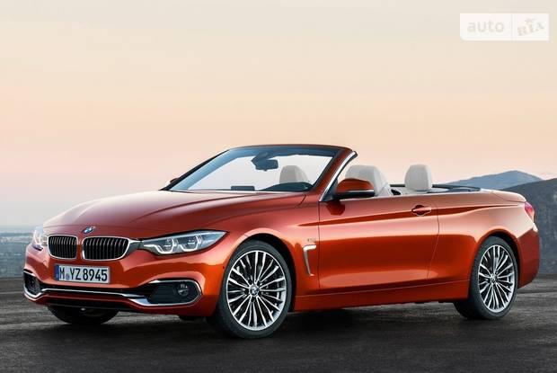 BMW 4 Series F33 рестайлинг Кабриолет
