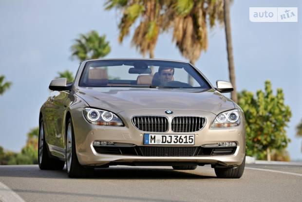 BMW 6 Series Coupe F12 Кабріолет