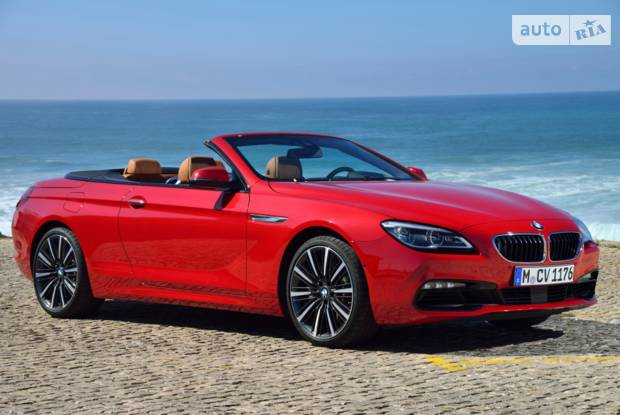 BMW 6 Series Coupe F12 (рестайлінг) Кабріолет
