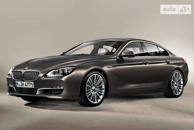 BMW 6 Series Gran Coupe F06 Купе