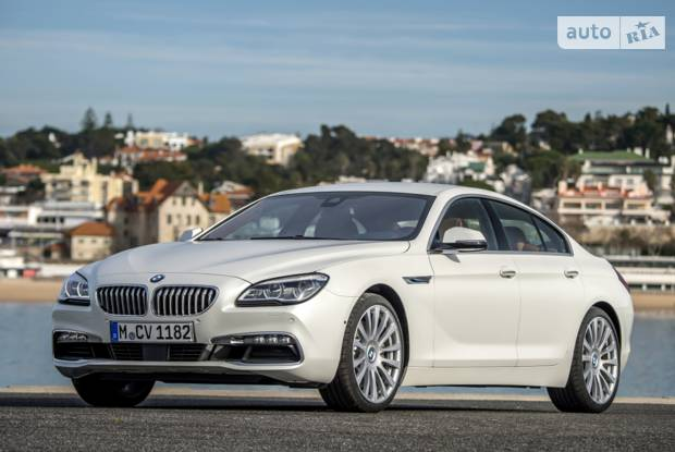 BMW 6 Series Gran Coupe F06 (рестайлінг) Купе