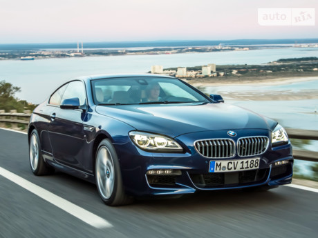 BMW 6 Series 2012