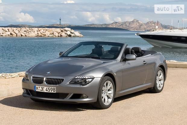 BMW 6 Series E64 (рестайлинг) Кабриолет