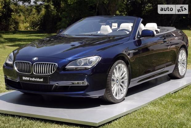 BMW 6 Series F12 Кабріолет