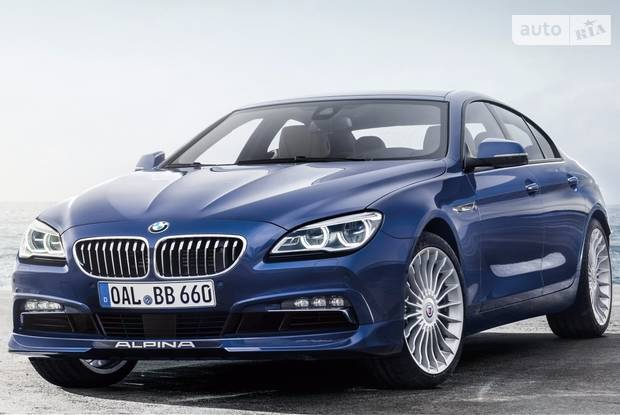BMW-Alpina B6 F06 (рестайлинг) Купе