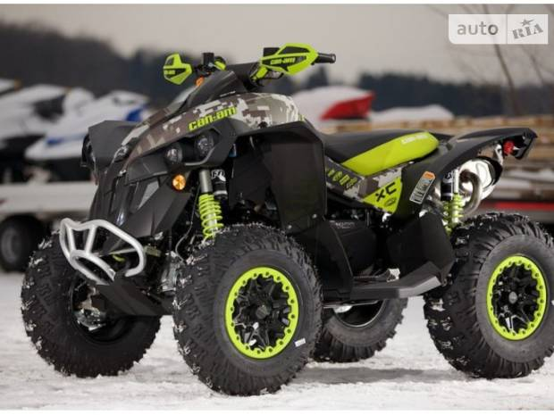 BRP Renegade 1 поколение Квадроцикл