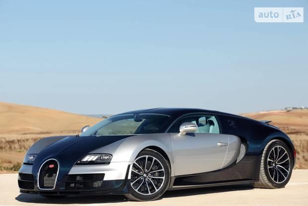 Bugatti Veyron 2 поколение Купе