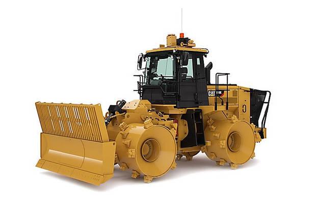 Caterpillar 816 1 поколение Компактор