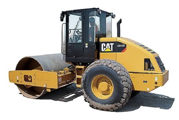Caterpillar CS 1 покоління Каток