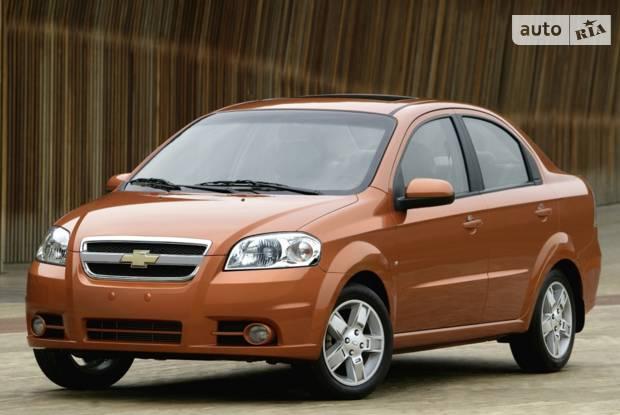Chevrolet Aveo T250 (рестайлінг) Седан
