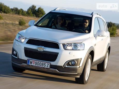 Chevrolet Captiva 2.2D MT (184 л.с.) 2013