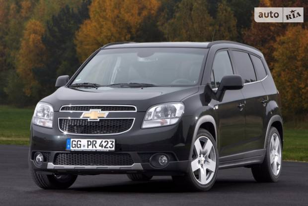 Chevrolet Orlando 1 покоління Мікровен