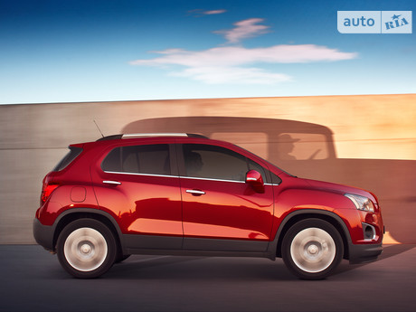Chevrolet Tracker 1.8 МТ (140 л.с.) 2015