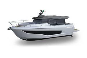 Cranchi crossover 1 поколение Яхта