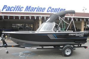 Crestliner 1650-fish-hawk-wt 1-е поколение Лодка