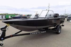Crestliner 1750-fish-hawk-wt 1-е поколение Лодка