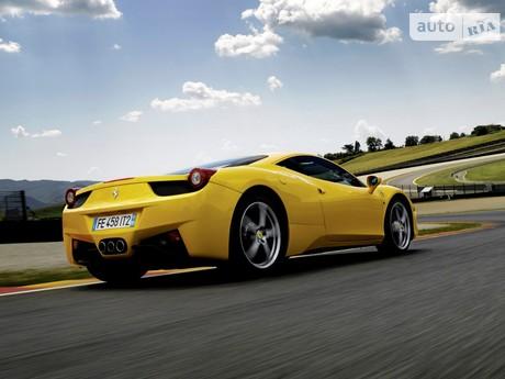 Ferrari 458 Italia 4.5 AMT (578 л.с.) 2013