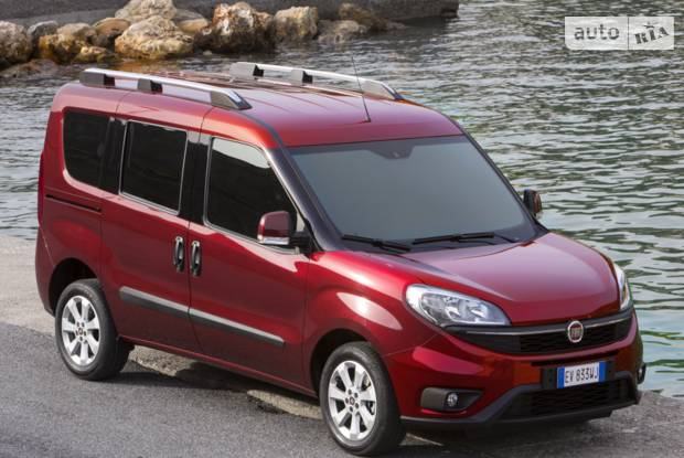 Fiat Doblo Panorama 3 поколение Мікровен