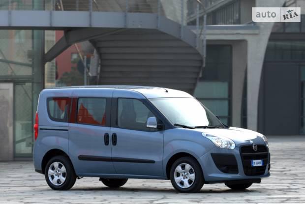 Fiat Doblo пасс. 2 покоління Мікровен