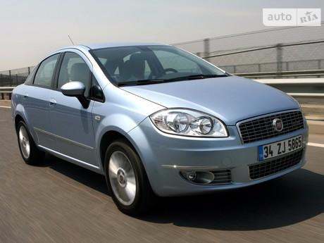 Fiat Linea 1.4T MT (120 л.с.) 2009