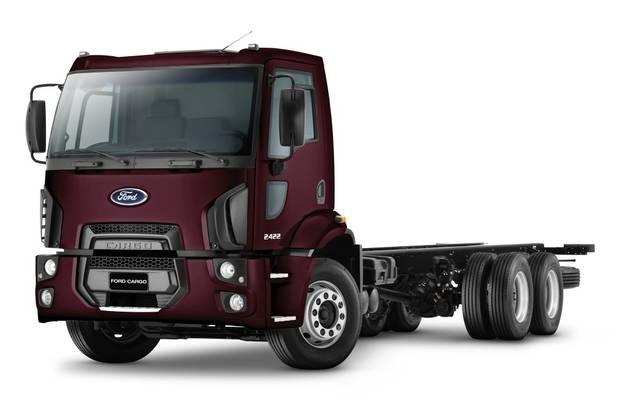 Ford Cargo 3 покоління Шасси