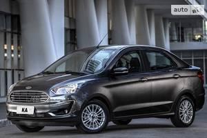 Ford ka 3 поколение (рестайлинг) Седан