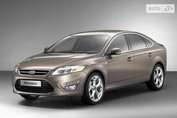 Ford Mondeo 4 поколение, рестайлинг Ліфтбек