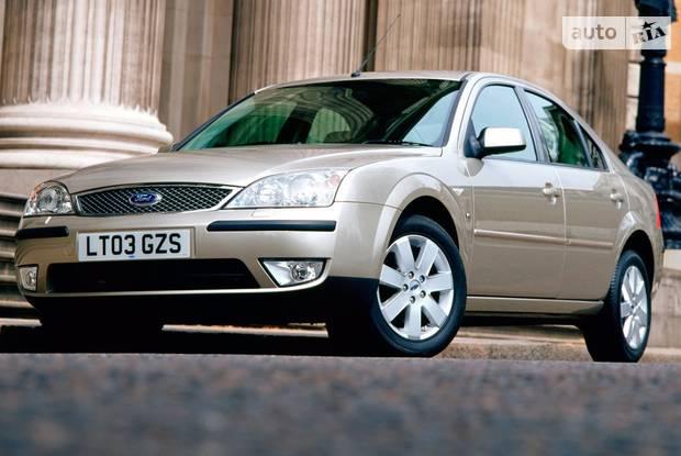 Ford Mondeo 3 поколение, 1 рестайлинг Ліфтбек
