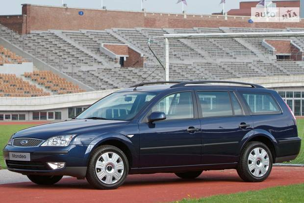 Ford Mondeo 3 поколение, 1 рестайлинг Универсал