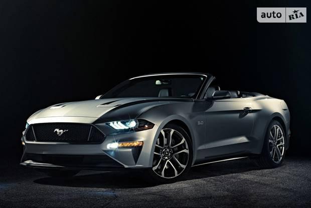 Ford Mustang 6 поколение, рестайлинг Кабріолет
