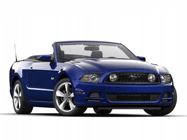 Ford Mustang 5 поколение, 2 рестайлинг Кабріолет
