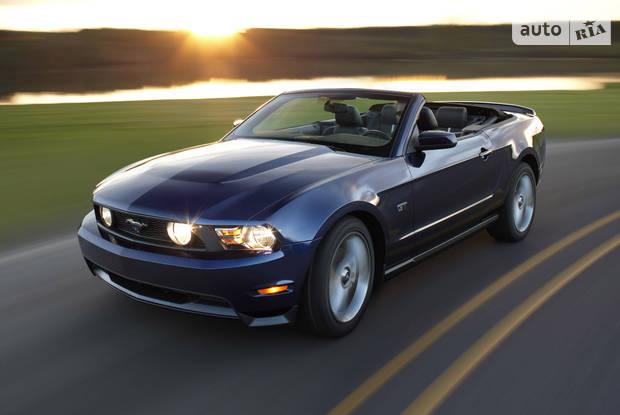 Ford Mustang 5 поколение, 1 рестайлинг Кабріолет
