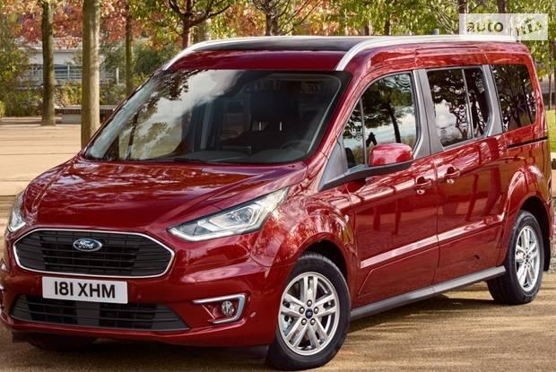 Ford Tourneo Connect пасс. II поколение (рестайлинг) Мінівен