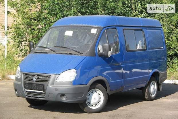 ГАЗ 2752 Соболь 3 покоління (рестайлінг) Фургон