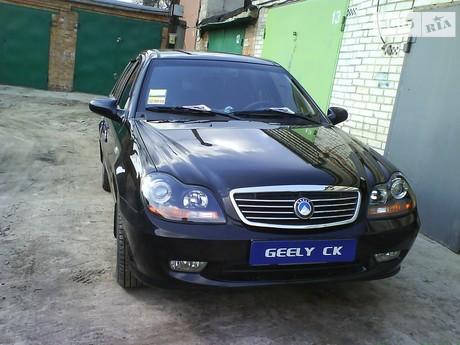 Geely CK-2 1.5 МТ (94 л.с.) 2012