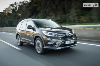 Honda CR-V 1.6D AT (160 л.с.) Elegance 2017