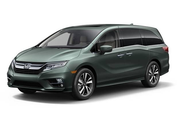 Honda Odyssey 6 поколение Минивэн