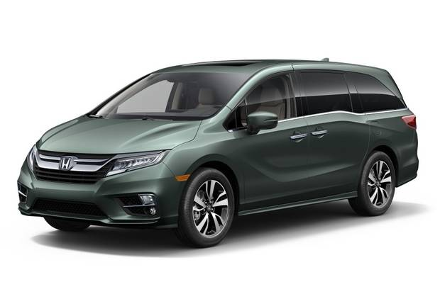 Honda Odyssey 6 поколение Мінівен