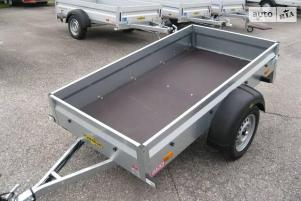Humbaur Steely 1-е поколение Причеп